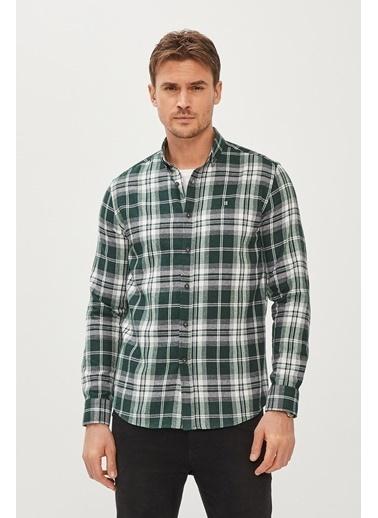 Avva Erkek  Ekoseli Gömlek A02Y2323 Yeşil